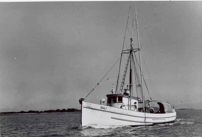Daily,Built 1919 John Strand  Seattle,C M Rolie,Dale Kolburn,George Clovis,Helmut Opolka,Todd Blakley,Early 50's Eureka,