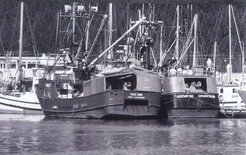 Aleutain_Isle,Built 1974 Marine Cont,James Bodding,Kesia_Dawn,Built 1980 Maki Fort Bragg,Seward