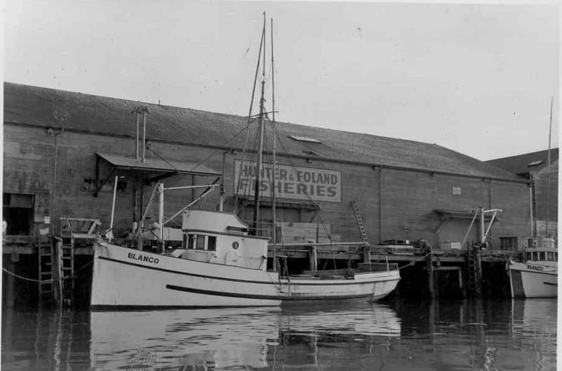 Blanco,Built 1926 Seattle,Ole Stokke,Ernest Mathisen,Harold Johnson,Gerald Bricker,Randi,Early 50's Eureka,
