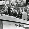 Ralph Lund,John Haram,Arne Larsen,Terry Tveit,Nils Odegaard,Elmer Martens,1988,Pic Taken 100 years From First Halibut Delivery,
