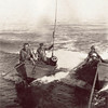Dorys 6, 10,Being Towed By Schooner Vansee,1920's,