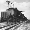 ICE HOUSE - IHB YARD - RIVERDALE IL    c. 1940's<br /> Railroad cars with perishables were cooled by ice from the house.