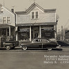 MACANDER APPLIANCES - HARVEY IL  c.1950 era<br /> Still operating in 2013 - centering on Lionel hobby trains.  <br /> How many bought their first TV sets here in the 1940-50's?<br /> Grandpa Macander is in the alley scolding his dog.