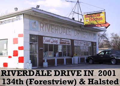 RIVERDALE DRIVE IN<br /> Just south of the golf course - still in operation in 2013