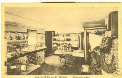 Hancock Interior Shaker Gift Shop
