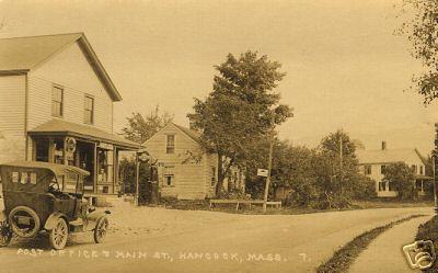 Hancock Post Office & Main St