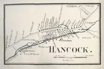 Hancock Map of Town