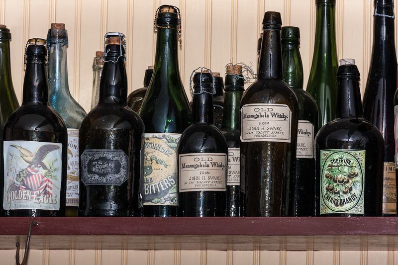 Closed up of the liquor