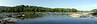 Shenandoah River Runs by Harpers Ferry National Historical Park