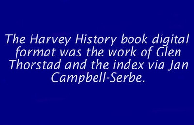 Harvey History Book