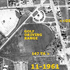 147th & DIXIE HWY - HARVEY, IL - 1961 AERIAL<br /> Note that 147th/Sibley didn't go straight through to Posen, then. One had to go north and turn west.   The ABC drive-in was short-lived and not too popular. Also Western Avenue ends at 147th and from there south it's Dixie Highway.  The Dixie Highway originally was a route going all the way to Florida.