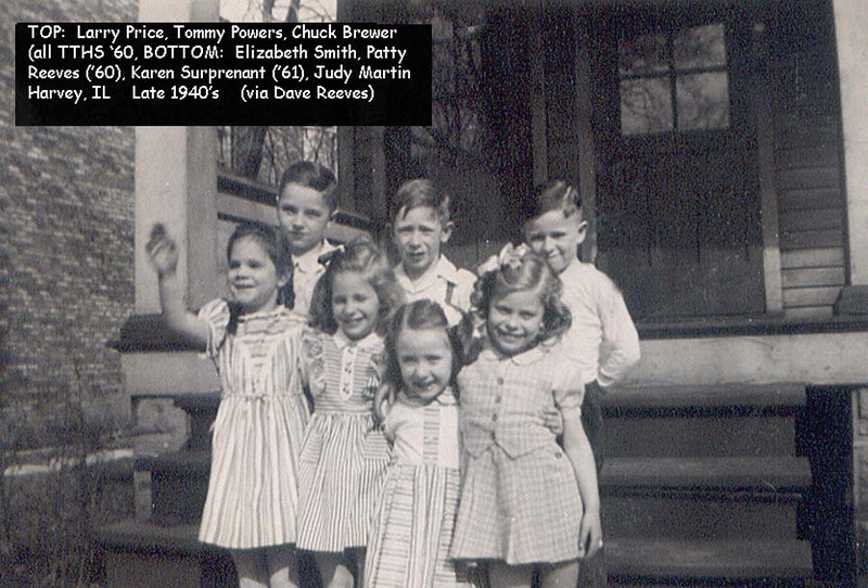 TTHS 1960-61 GROUP AS KIDS - 1940's<br /> via Dave Reeves
