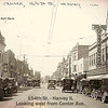 154th STREET - HARVEY, IL - 1920's -POSTCARD