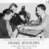 FRISKE JEWELERS - HARVEY, IL - 1955<br /> Thornton high school students shopping for a class ring.<br /> From the Thorntonite yearbook, 1955