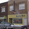 "IRENE'S (ONCE JEAN'S) BAKERY - HARVEY, IL - 2002<br /> Once Jean's Swedish Bakery.  Originally opened in 1948.  The neon sign ""Kidde Cakes Our Specialty"" is from the 1948 store. Jean was active with the bakery into her 90's, but ceded management to her younger family members.  It closed doors around 2011."