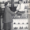 HARVEY (IL) TRIBUNE STATIONARY STORE - 1950<br /> Before ball point pens - one had to buy ink as well.  From the Thorntonite yearbook.