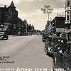 154th STREET - HARVEY, IL - LOOKING WEST - 1940's