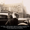 ERA THEATRE - HARVEY, IL - 1936<br /> Across the street from the Morrison Ice Cream shop.  Pictured are two star athletes from  Thornton Township High School.  McComb was on the 1933 state champion basketball team.