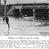 HARVEY, IL - 159th & PARK AVE - 1954 FLOOD<br /> The viaduct was recently replaced by a new structure--no backups!