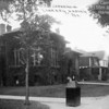CARNEGIE LIBRARY - HARVEY, IL - 1917<br /> Ivy was popular for buildings in this era--the Elks Club down the street had same.  Later it was found that ivy damaged structures and a haven for insects.  Plus it hid the architecture of these fine structures.