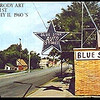 "BLUE STAR AUTO -  55 E 154th ST - HARVEY, IL <br /> PAINTING BY ARTIST, WILLIAM BRODY (copyrighted)<br /> NW Corner of 154th & Myrtle<br /> William Brody, past Harvey resident and TTHS graduate, painted a number of scenes of the vintage Harvey area.<br /> <a href=""http://www.wbrody.com/"">http://www.wbrody.com/</a>"