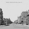 HARVEY, IL - 154TH STREET - WEST FROM PARK AVENUE - POSTCARD