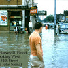 MINUETTE RESTAURANT - HARVEY, IL - 1954 FLOOD<br /> SW Corner of 154th & Turlington<br /> Brandt Theatre, Woolworths on right