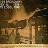 HARVEY'S FIRE DEPARTMENT BURNS DOWN!!  1958<br /> Don't think anyone missed the Edsels burned in the fire....