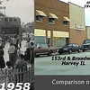 OLD, FIRE, STATION, NEWER, POLICE, STATION, ONCE, HARVEY, IL