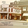 HARVEY (IL) THEATRE - 1968<br /> Building on left later became an office supply store. On right is Karl Treen Insurance.