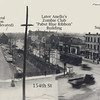 154th & PARK - HARVEY, IL- c.1920<br /> The Illinois Central railroad tracks were elevated in the late 1920's.