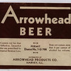 ARROWHEAD BEER - HARVEY, IL<br /> No information known.