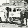 "DIXIE DAIRY COMPANY - HARVEY, IL   <br /> Later moved to a modern plant in Chicago Heights, IL.  <br /> Some may remember the Dixie sign atop the ""Bums' Castle"" on 153rd and Halsted in the 1940-50's era."