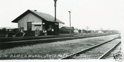 North Hatfield B & M RR Station
