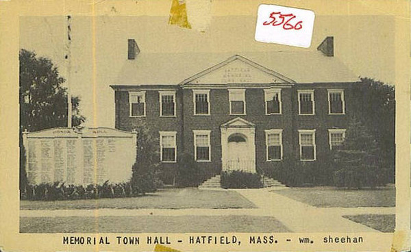 Hatfield Town Hall 1948
