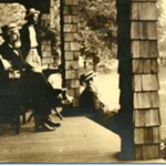 Henry Cope on Porch