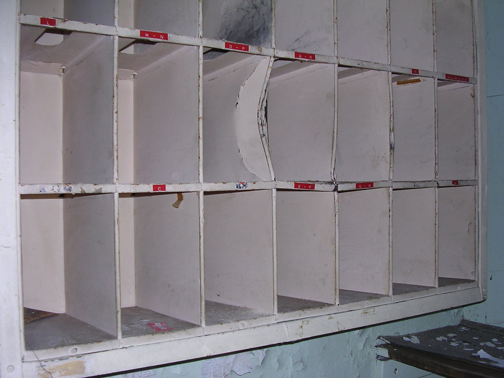 Mailboxes.<br /> <br /> 4-23-07