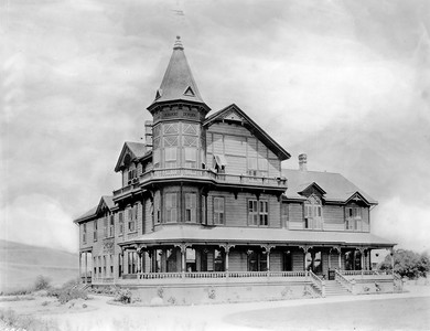 The Garvanza Hotel in Highland Park, Los Angeles, 1887