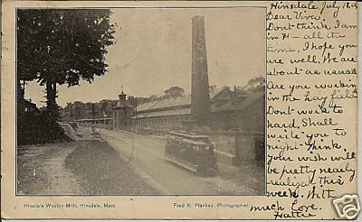 Hinsdale Trolley by Woolen Mill