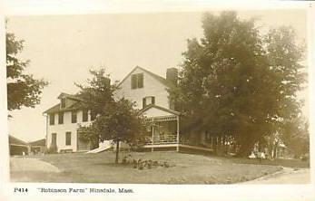 Hinsdale Robinson Farm RPPC