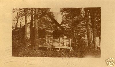 Hinsdale Cabin in woods