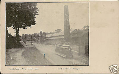 Hinsdale Hinsdale Woolen Mill 1900