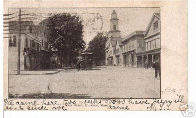 Hinsdale Main St 1909