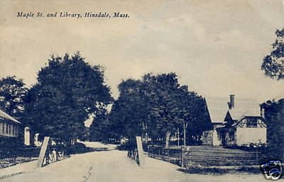 Hinsdale Maple St & Library