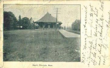 Hinsdale RR Station 1911