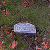 Mrs. Marie Nightingale Hughes<br /> Plaque - Mrs. Hughes - Oak Grove Cemetary in downtown Brunswick, Georgia - Nightingale Plot
