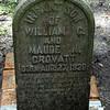 Infant Son Crovatt<br /> Son of Maude Nightingale Crovatt and William G Crovatt - Oak Grove Cemetary in downtown Brunswick, Georgia - Nightingale Plot