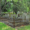 Oak Grove Cemetary in downtown Brunswick, Georgia - Nightingale Plot