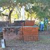 OGCS Cleaning of Urbanus Dart Family Plot at Oak Grove Cemetery in Downtown Brunswick, Georgia