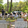 "Oak Grove Cemetery Society hosts ""Under the Oaks"" Concert by the Coastal Brass Choir 05-21-16"